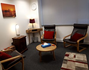 City of London counselling psychology rooms